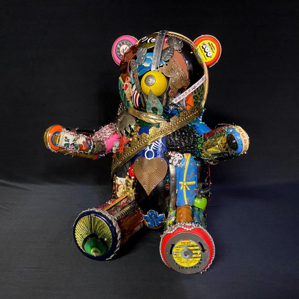 Teddy Bear Covid by Leo Sewell